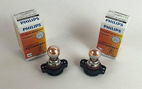 2 x PHILIPS PSY24W LAMPE LAMP 12180SV 12180SV+C1 CHROME PSY24WSV+ 12V 24W PG20/4