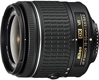 Nikon 18-55mm f/3.5-5.6G VR AF-P DX Zoom-Nikkor Lens - (Renewed)