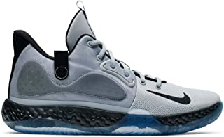 Nike Men`s KD Trey 5 VII Basketball Shoes (9, Gry/Black/White)