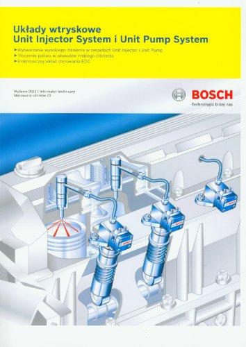 Uklady wtryskowe Unit Injector System i Unit Pump System (INFORMATORY TECHNICZNE BOSCH)