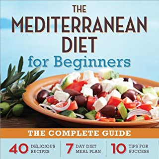 The Mediterranean Diet for Beginners audiobook cover art