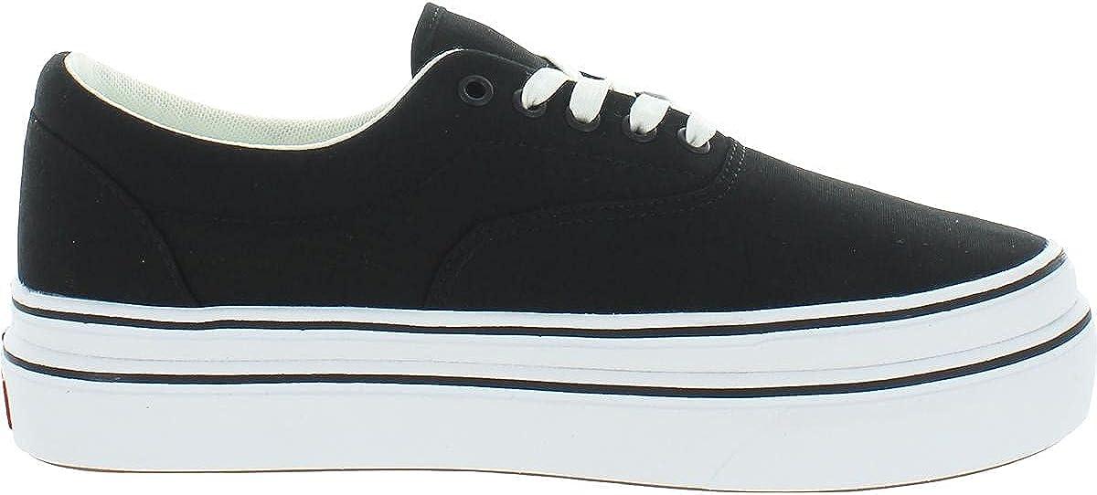 Vans Mens Super Comfycush E Canvas Fashion Sneakers Black 10 Medium (D)