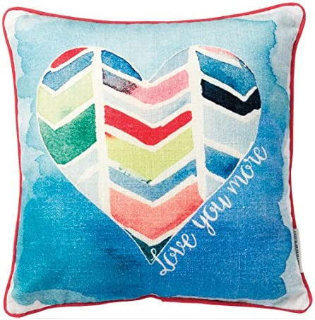 Primitives by Kathy Double-Sided Directly managed store Love Pill Cotton You Max 80% OFF More Throw