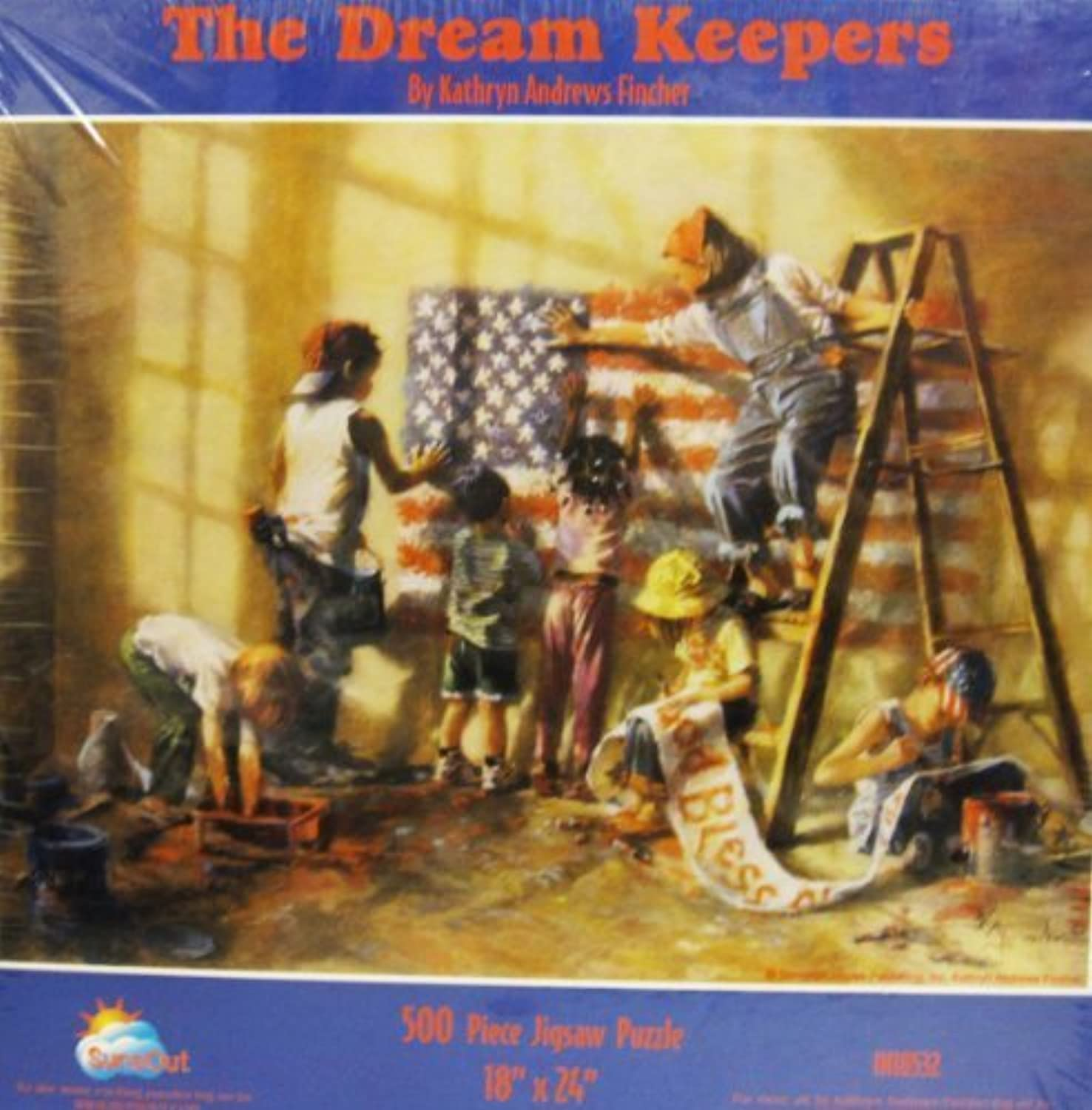 The Dream Keepers 500 Piece Jigsaw Puzzle 18 X 24 by SunsOut