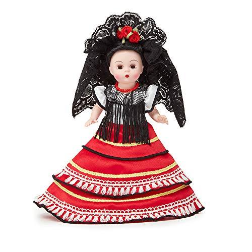 Madame Alexander 8 Inch Spanish Princesa Collectible Doll, Multicolor