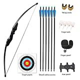 Vogbel Archery Takedown Recurve Bow and Arrow Set 30lb 40lb Right Hand Longbow Kit for Beginner...