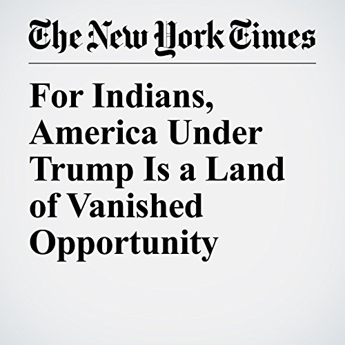 For Indians, America Under Trump Is a Land of Vanished Opportunity copertina