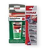 SONAX KratzerEntferner Kunststoff NanoPro 75ml + MicrofaserTuch Reinigung