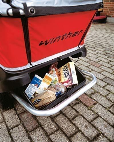Turtle Kinderbus Gepäckkasten von Winther, für den 4-Sitzer oder den 6-Sitzer Turtlebus geeignet