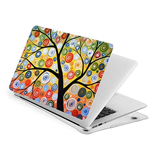 Tree of Life Oil Painting Color Laptop Cover Protective Case MacBook 13 Air is Suitable A1466 A1369 MacBook New Air13 is Suitable A1932. MacBook 15 Touch is Suitable A1707 A1990