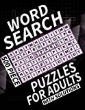 Word Search Puzzles For Adults 500 Piece: To Stretch The Brain and Build Personal Word Skills This Jumbo Difficult Word Search Puzzle Book Could ... And A Gift able Item For Both Men Or Women