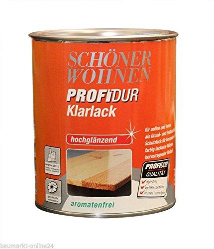 Profidur Klarlack 125 ml Hochglänzend Schöner Wohnen
