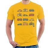 Volkswagen Vans And Beetles Men's T-Shirt