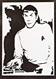 Spock Poster STAR TREK Leonard Nimoy Plakat Handmade Graffiti Street Art - Artwork