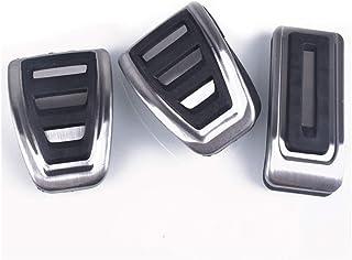 ZXC Edelstahl Kraftstoff Brems Fußraste Pedal at/MT Fit for VW Transporter T5 Mult T6 Caravelle T6 (Color Name : MT)