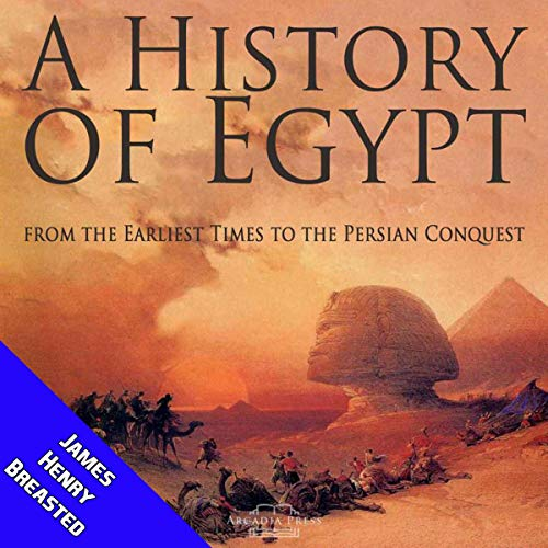 『A History of Egypt from the Earliest Times to the Persian Conquest』のカバーアート