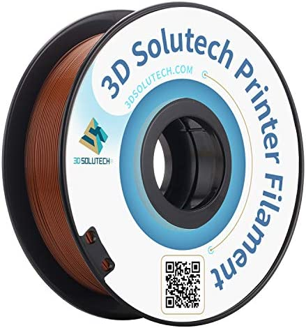 3D Solutech 3DSPLA175BWN Chocolate 3D PRINTER PLA Filament Dimensional Accuracy 0 03 mm 2 lb product image