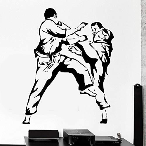 AKmene Karate Judo Artes Marciales Deportes Vinilo Adhesivo para pared57X69CM