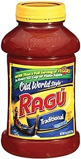 Ragu Pasta Sauce, Old World Style, Traditional, 45 oz
