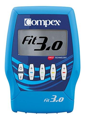 Compex Fit 3.0 Electrostimulateur Mixte, Bleu