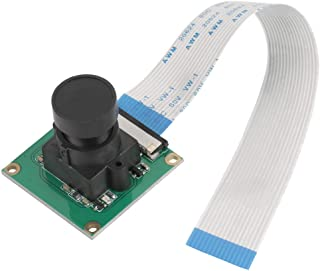 5 Million Pixels Camera Module, 3232mm OV5647 1080p Sensor Day/Night Vision Video Module Replacement with Raspberry Pi B 3/2