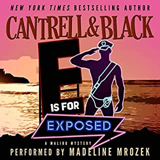 """""""E"""" Is for Exposed audiobook cover art"""