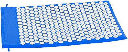 newgen medicals Akupunkturmatte: Entspannungsmatte mit 9075 Druckpunkten, 80 x 50 x 2 cm (Nagelmatte)