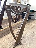 28Saiten Walnuss Harfe, 28cuerdas celta Irlandés Arpa, Irlanda–Arpa