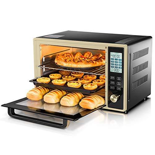 L.TSA Küchen freistehende Elektroöfen Intelligenter multifunktionaler digitaler Timer-Backofen für gewerbliche Großraumgeräte 33L