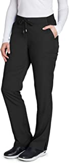 Grey's Anatomy 4277 Women's Straight Leg Scrub Pant Black S