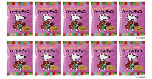 メイシーちゃん(TM)のおきにいり ハートのチョコ (5g×8個入り)×10個 ★ 宅配便 ★ 対象年齢(目安):3才頃から。★北海道産ミルクを使用した、ひとくちサイズのハート形ミルクチョコ。砂糖の代わりにパラチノース・還元麦芽糖水飴を使っています。個包装