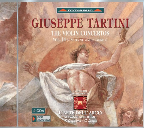 Tartini, G.: Violin Concertos, Vol. 14 (L'Arte Dell'Arco)- D. 7, 28, 31, 33, 34, 65, 68, 78, 102, 103, 107