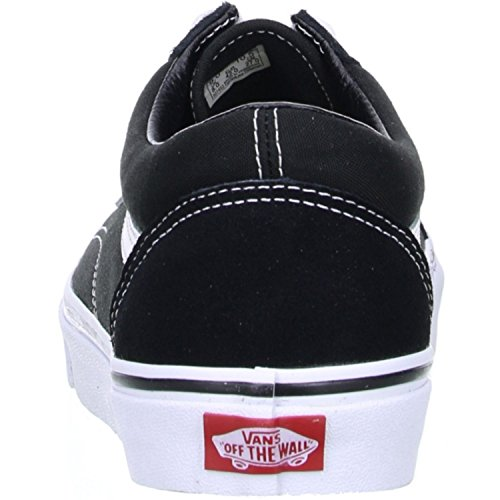 Vans Old Skool, Zapatillas Unisex Adulto, Negro (Black/White), 39