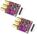 TECNOIOT 2pcs CJMCU-5351 Si5351A Si5351 Clock Generator Breakout Board Signal Generator