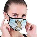 CZLXD - Máscara Antipolvo para Perro Bullmastiff, Antipolvo, máscara para la Boca y la máscara anticontaminación para Hombre y Mujer