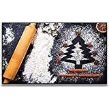 FUMOJI Cuadro de pared compuesto especias, árbol de Navidad, decoración póster para salón, cocina, impresión sin marco (40 x 60 cm)
