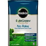 Miracle-Gro 119662 EverGreen Premium Plus No Rake Moss Remover Lawn Food 10 kg - 100 m2