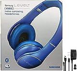 Samsung Level On Wireless Noise Canceling NFC Blue Headphones Universal Bluetooth -