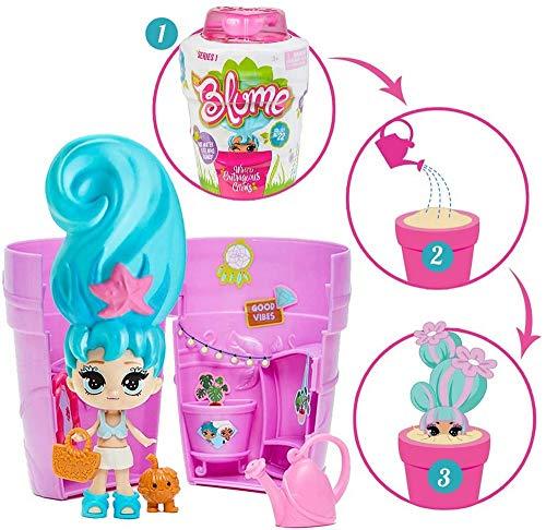 Bandai - Blume - Poupée surprise Blume - Poupée à collectionner qui pousse comme une fleur - 10 surprises par pot - modèle aléatoire - SK02254