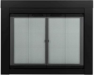 Pleasant Hearth AT-1001 1111 fireplace screen, Black from Pleasant Hearth