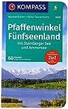 WF5433 Pfaffenwinkel, Fünfseenland Kompass: Wandelgids met overzichtskaart (German Edition)