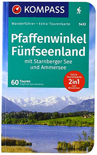 KV WF 5433 Pfaffenwinkel, Fünfseenland, Ammersee, Starnberger See: 0 (KOMPASS-Wanderführer, Band 5433)