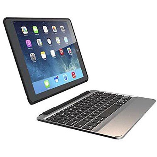ZAGG ID7ZF2-BBF Tastatur für Mobilgeräte Silber AZERTY Bluetooth - Tastaturen für Mobilgeräte (Silber, Apple, iPad Pro 12.9