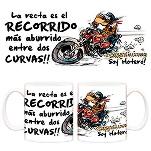 Diver Tazas Taza de Motero Curvas - Cerámica