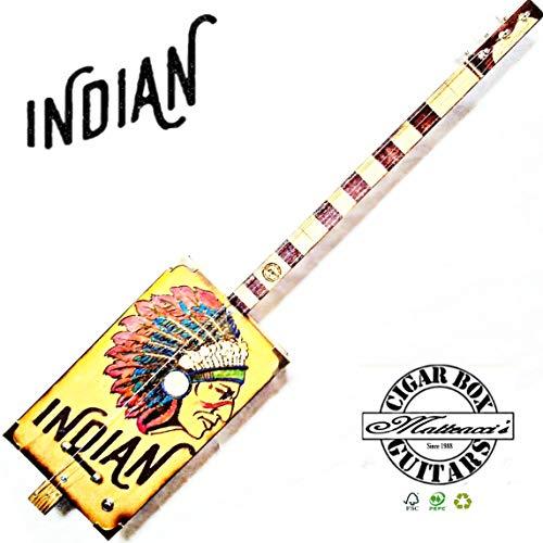 Cigar Box Matteacci Modell Indian 3SP slide