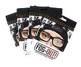Pack de 4 Nueva Gamuza Antivaho Microfibra para Gafas, Anti empañamiento, Toallitas antivaho Gafas, Bayeta antivaho, Gafas de Lectura Presbicia Foggy paño Microfibra