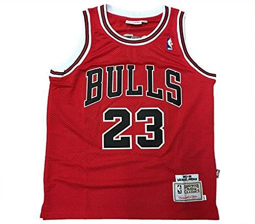 Camiseta de tirantes NBA retro – Michael Jordan – Chicago Bulls Hardwood Classics Vintage (S)