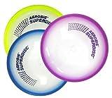 Aerobie Superdisc, 10 inch Diameter, Made in USA, Pack of 3