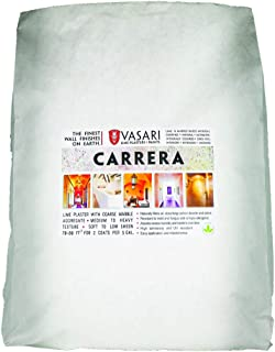 Carrera 45# Bag of Dry Mix (Makes 5 Gallons) Vasari Natural Lime Stucco Venetian Plaster Wall Finish The Best Paint Alternative