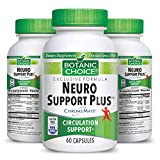 Botanic Choice Neuro Support Plus - Adult Daily Supplement - Delivers Essential Vitamins to Support Nerves Pain Relief Healthy Circulation and Blood Sugar Levels 60 Capsules